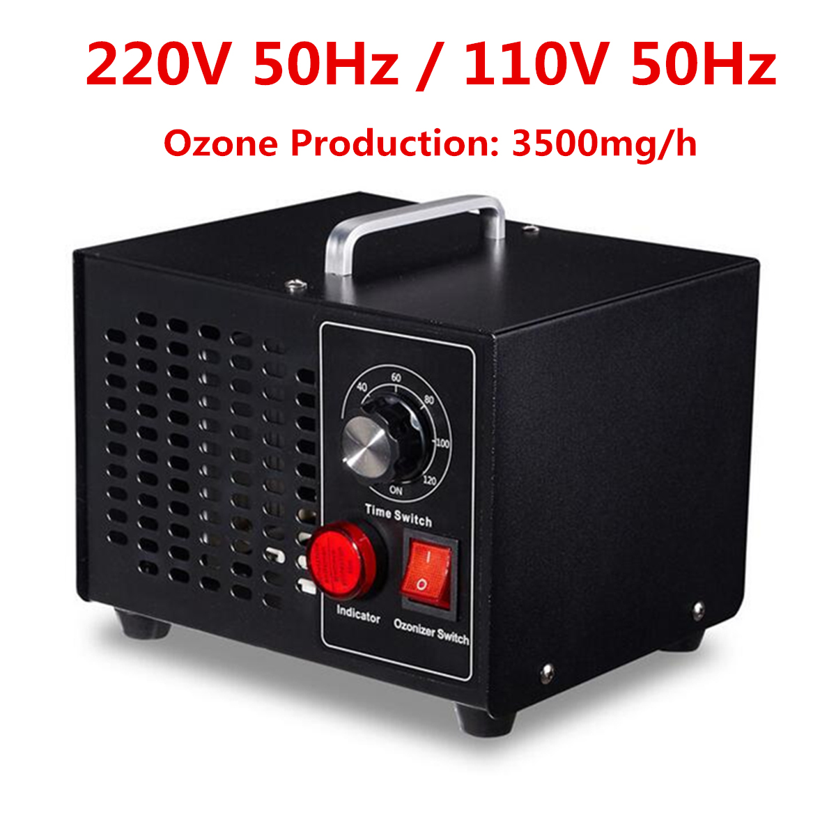 110V/220V 50Hz Commercial Household Ozone Generator Disinfection Machine Air Purifier 3500mg/h
