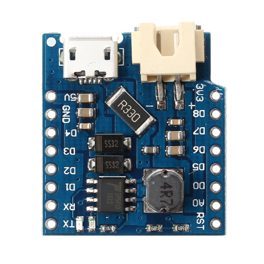 10pcs WeMos® D1 Mini Single Lithium Battery Charging And Battery Boost Shield Module