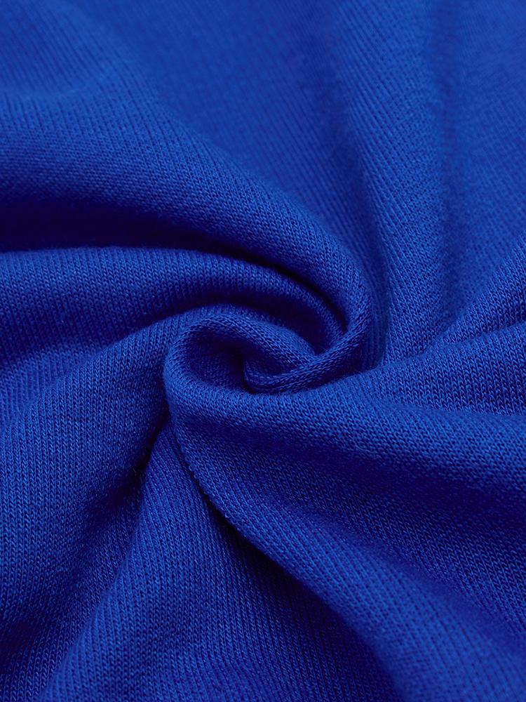 Women Pure Color Four Color Long Sleeve Dress