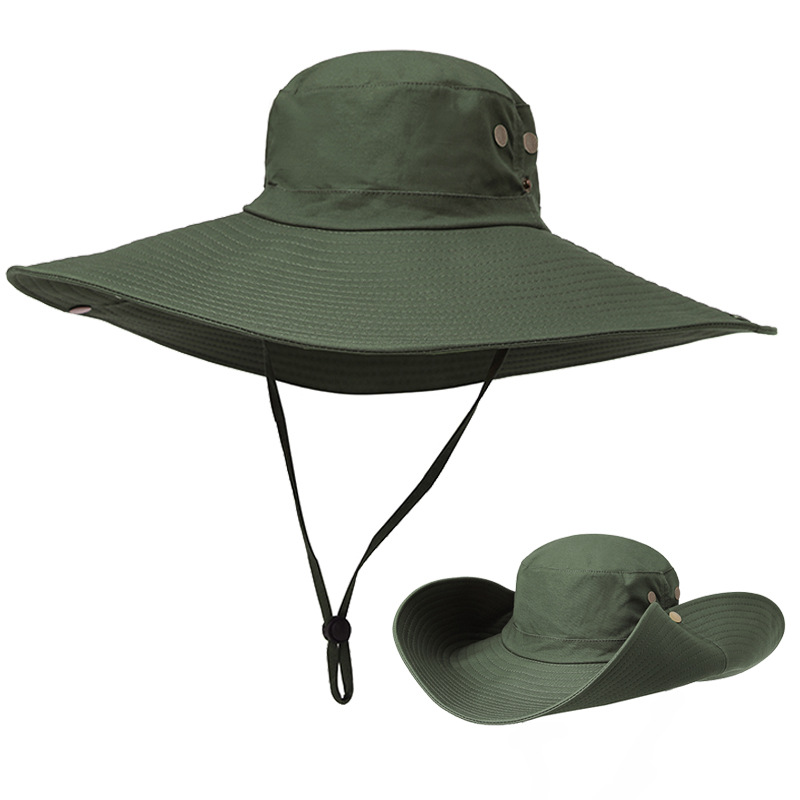 Men Outdoor Wide Brim Quick-drying Fishing Hat