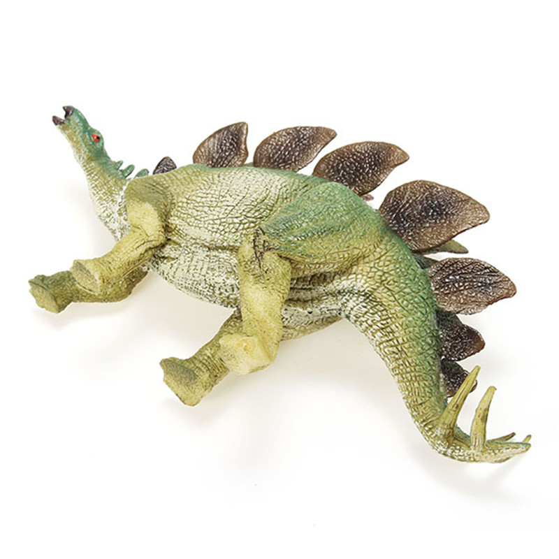 Cikoo Jurassic World Version Simulatie Solid Stegosaurus Plastic Dinosaurus Speelgoed Model Boys Gift