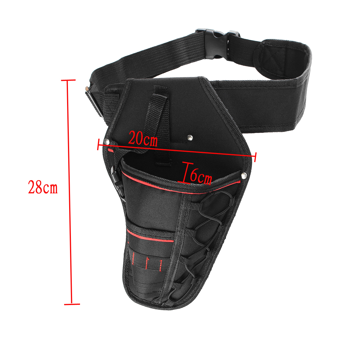 Cordless Electronic Drill Holster Tool Belt Pouch Adjustable Belt Storage Bag