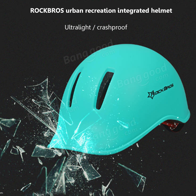 ROCKBROS EBS Sport Outdoor Bicycle Helmet City Leisure Riding Cycling Helmet Hole Breathable Helmet
