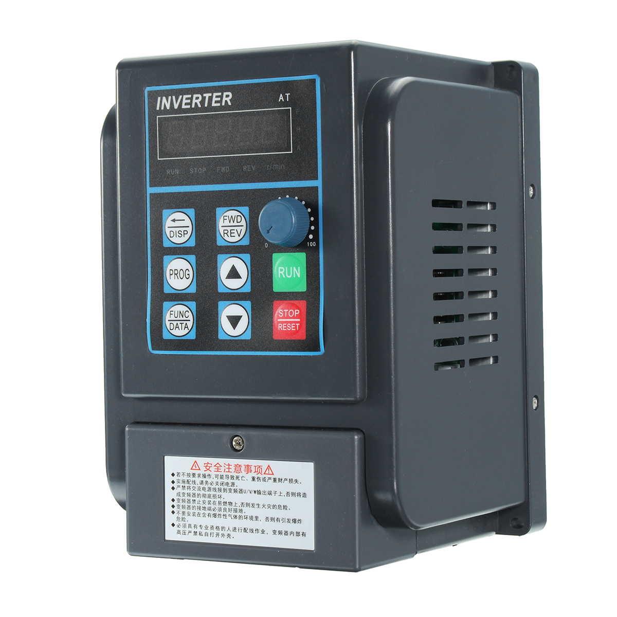 Купить со скидкой 2.2KW 12A 220V 1PH In 3PH Out 380V Variable Frequency Converter Drive Inverter V/F Vector Control