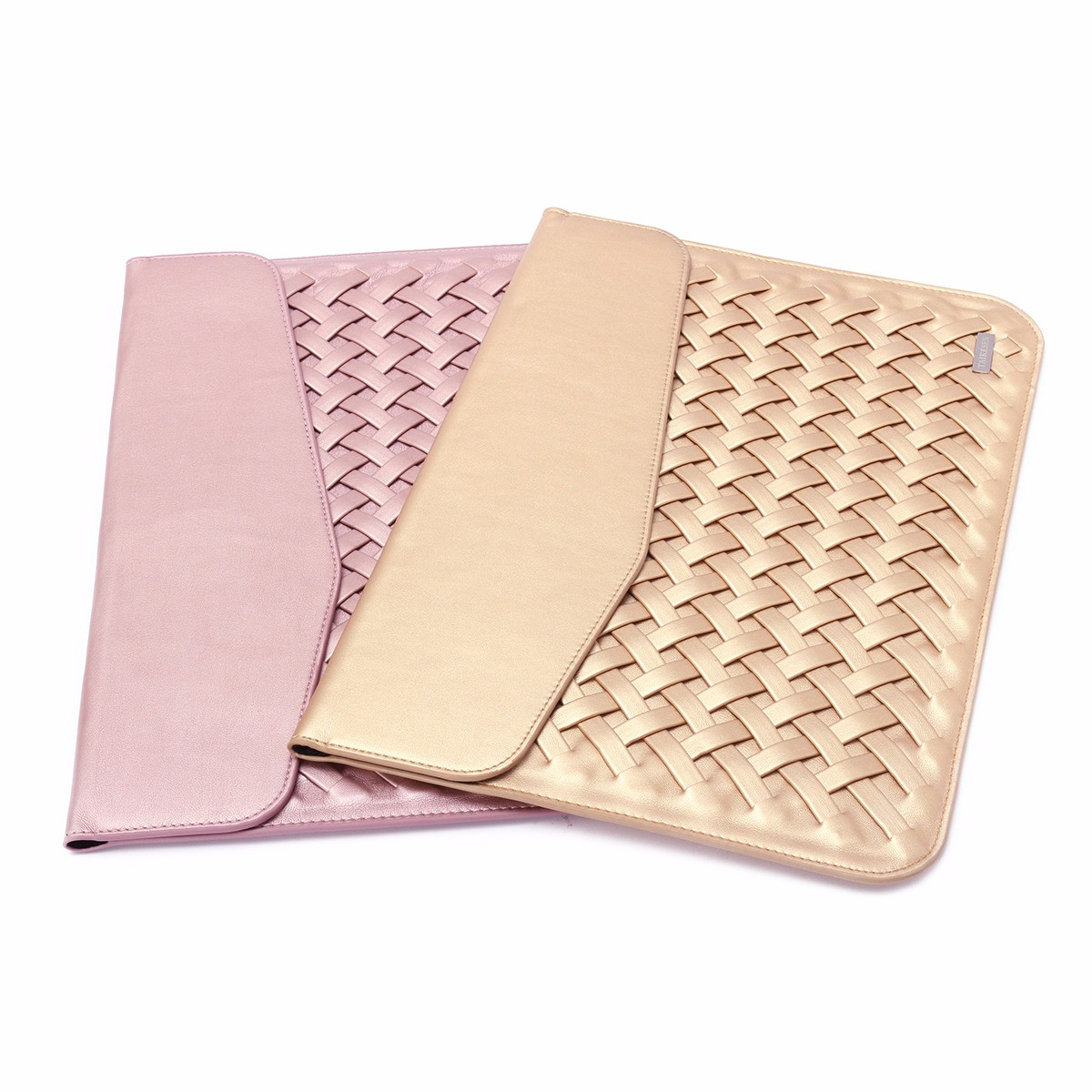 13 inch Weaving Laptop Bag PU Leather Case Cover Bag for Xiaomi Makbook Laptop