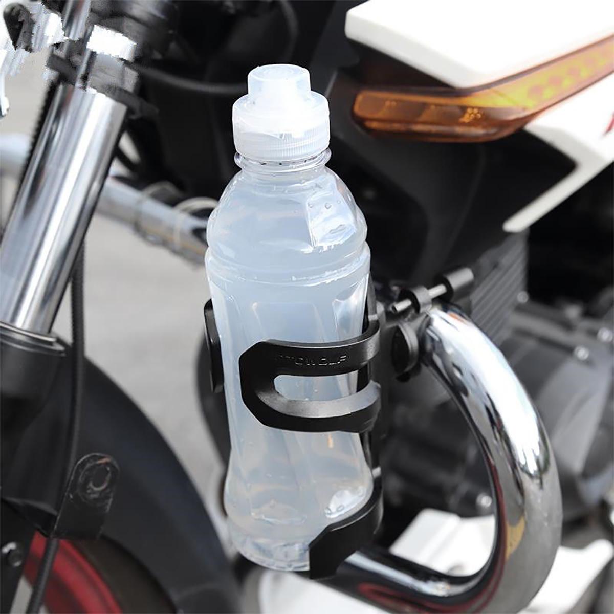 Crash Bar Water Bottle Guard Cup Bracket Holder Parts For Harley/KTM/BMW R1200GS F800GS