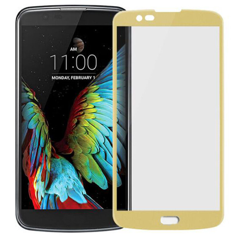 3D Hot Curved Surface Tempered Film Screen Protecter For LG TRIBUTE 5 / K7