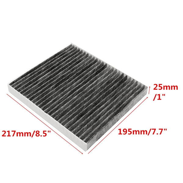 Car Cabin Air Filter 217mm for Chrysler Jeep Dodge 05055381AA 050558693AA
