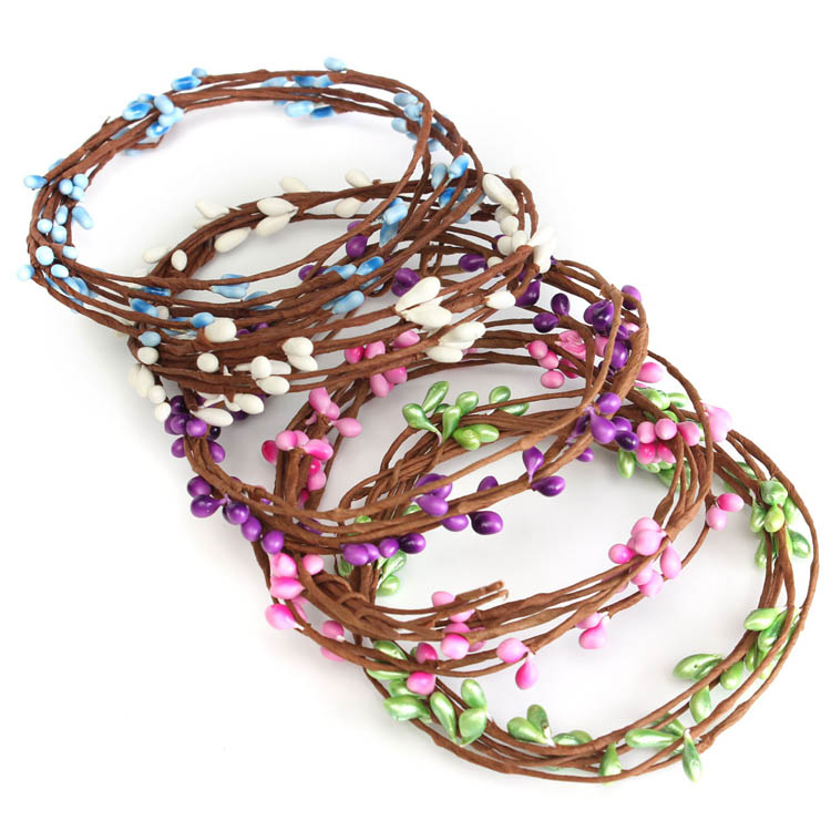 40cm Artificial DIY Flower Rattan Garland Home Garden Party Wedding Decorations