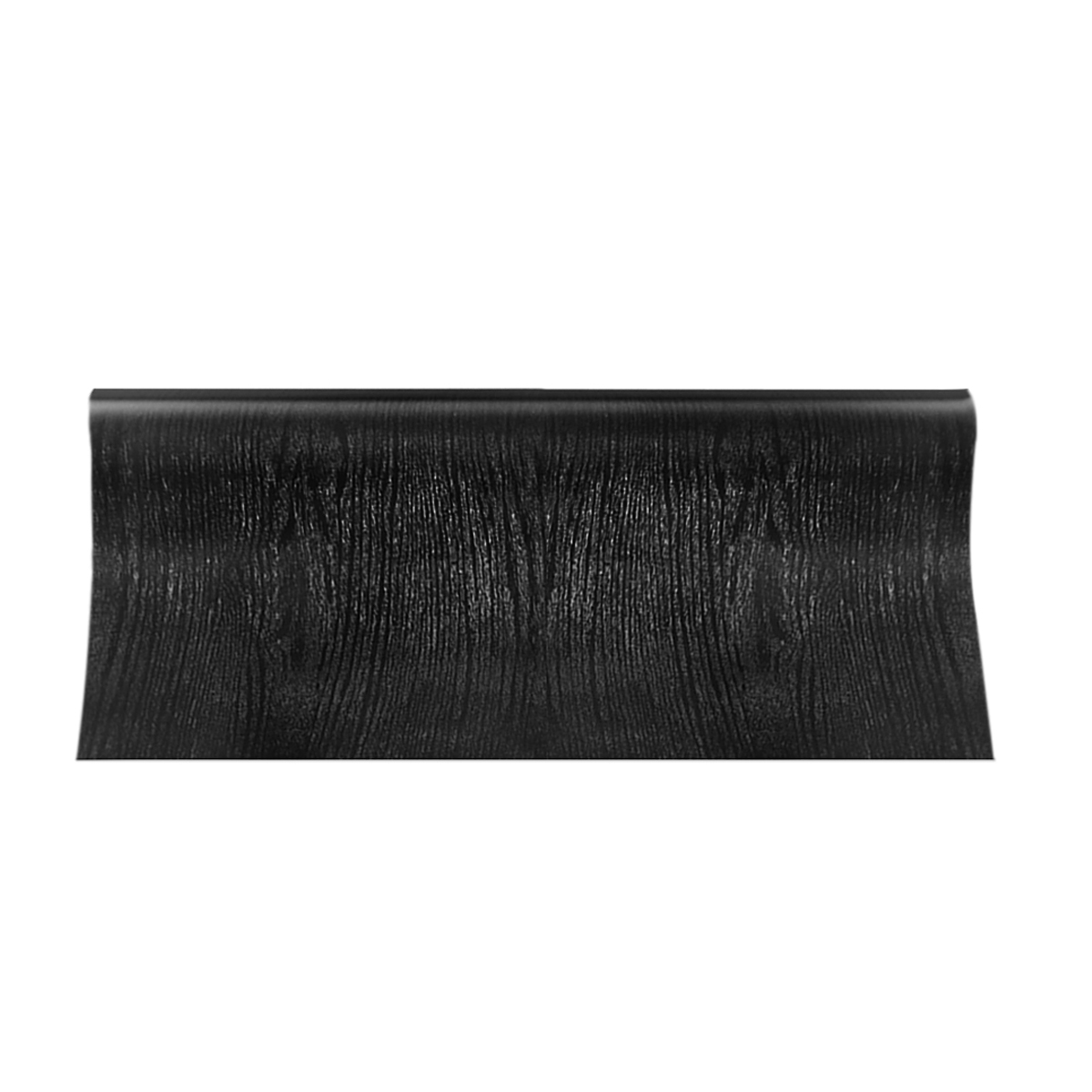 Black Wood Looking Textured Self Adhesive Decor Contact Paper Vinyl Shelf Liner Wall Paper