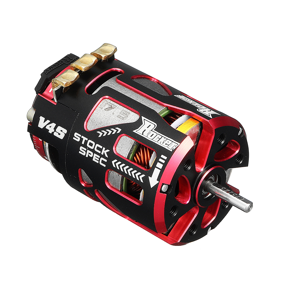 Surpass Hobby V4S Rocket Stock Spec Brushless 2 Sensor 10.5T 13.5T 21.5T 17.5T RC Car Motor Part