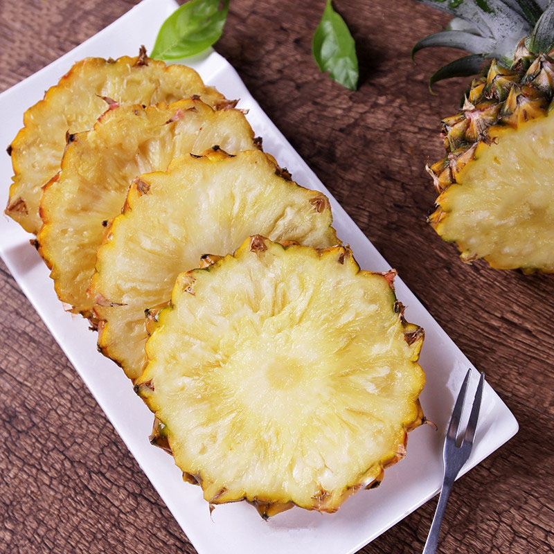 Egrow 100PCS Sweet Pineapple Seeds Home Garden Potted Delicious Edible Fruit Seed Bonsai Plants