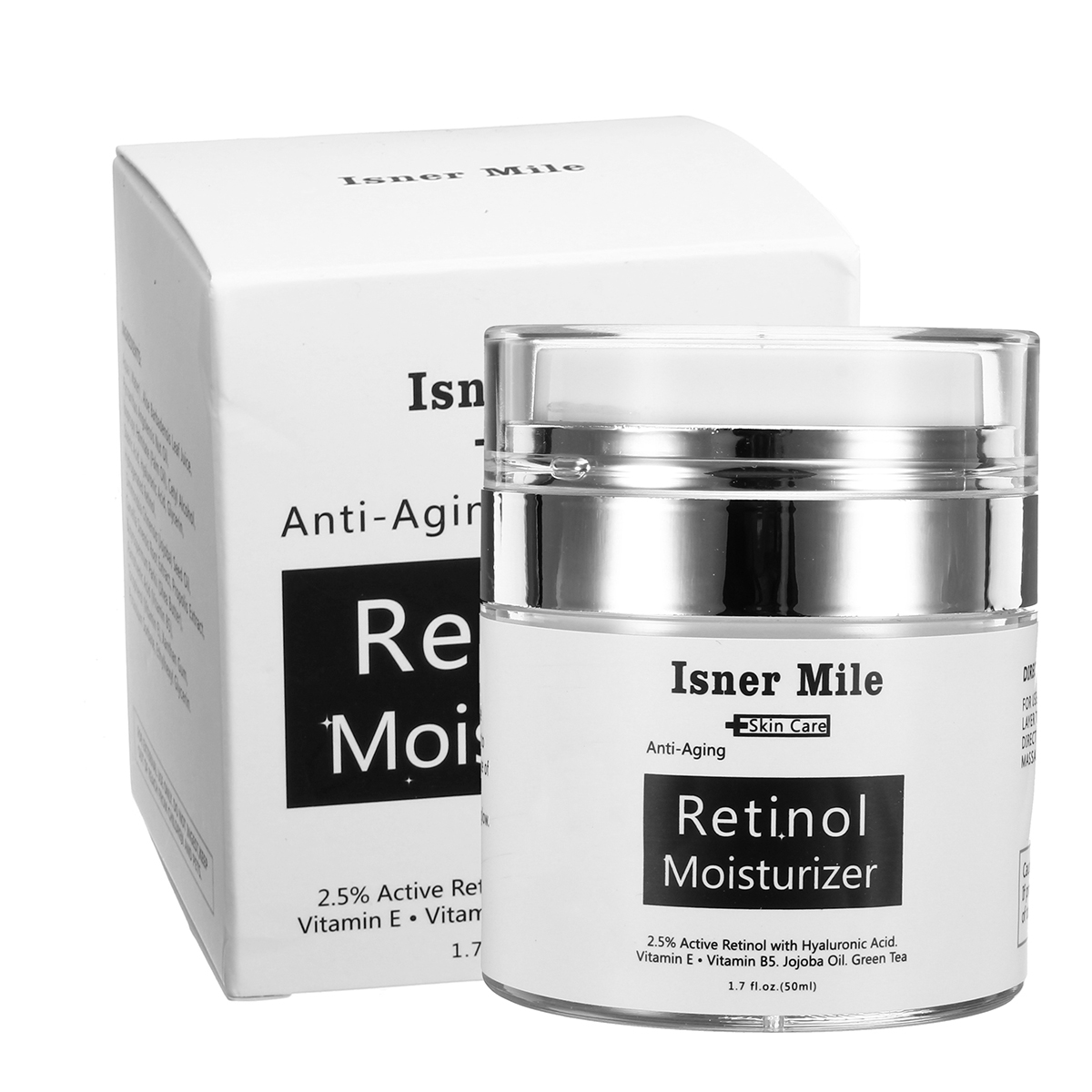 Isner Mile 2.5% Active Retinol Facial Cream Anti Aging 50ml