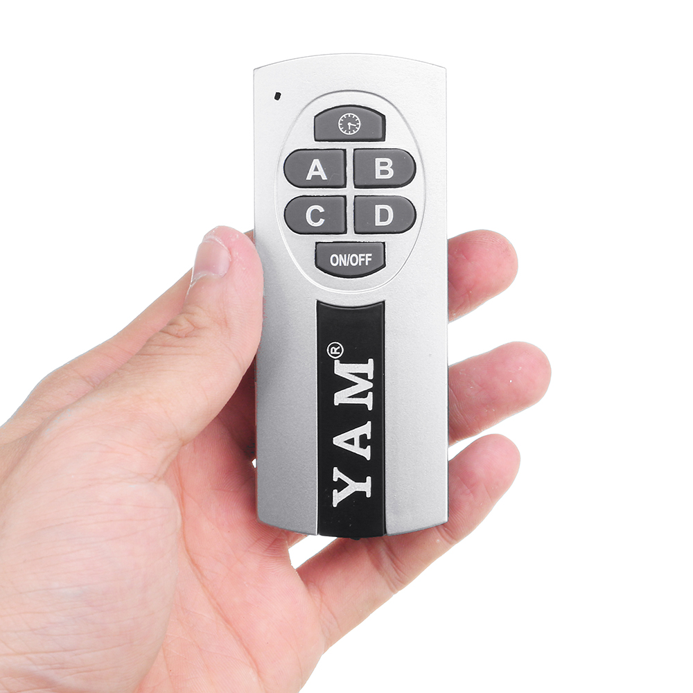 YM-084 4 Channel Digital Wireless Remote Control Switch For Smart Home LED Light Lamps