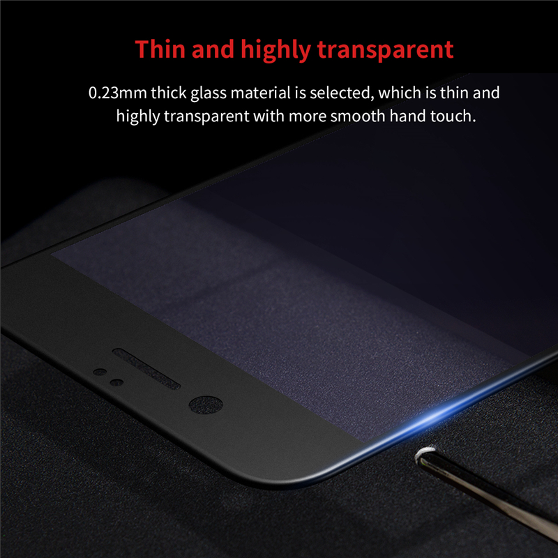 Baseus Anti Blue Light 3D Frosted 0.23mm PET Edge Tempered Glass Screen Protector For iPhone 7 Plus 5.5 Inch