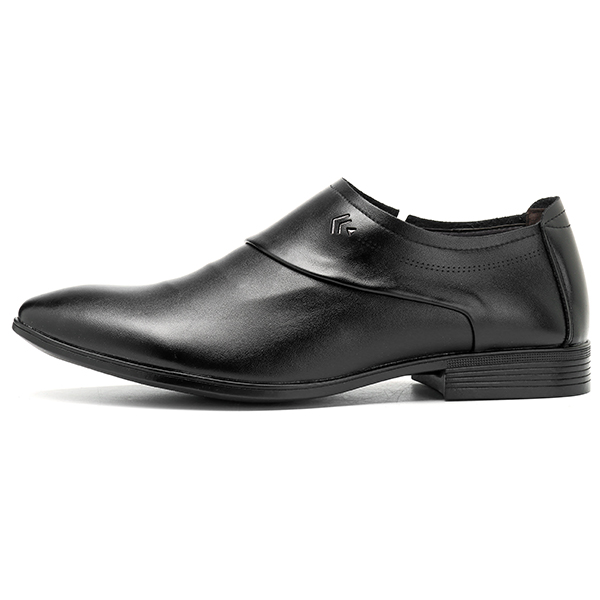 Men Soft Leather Slip On Business Formal Shoes