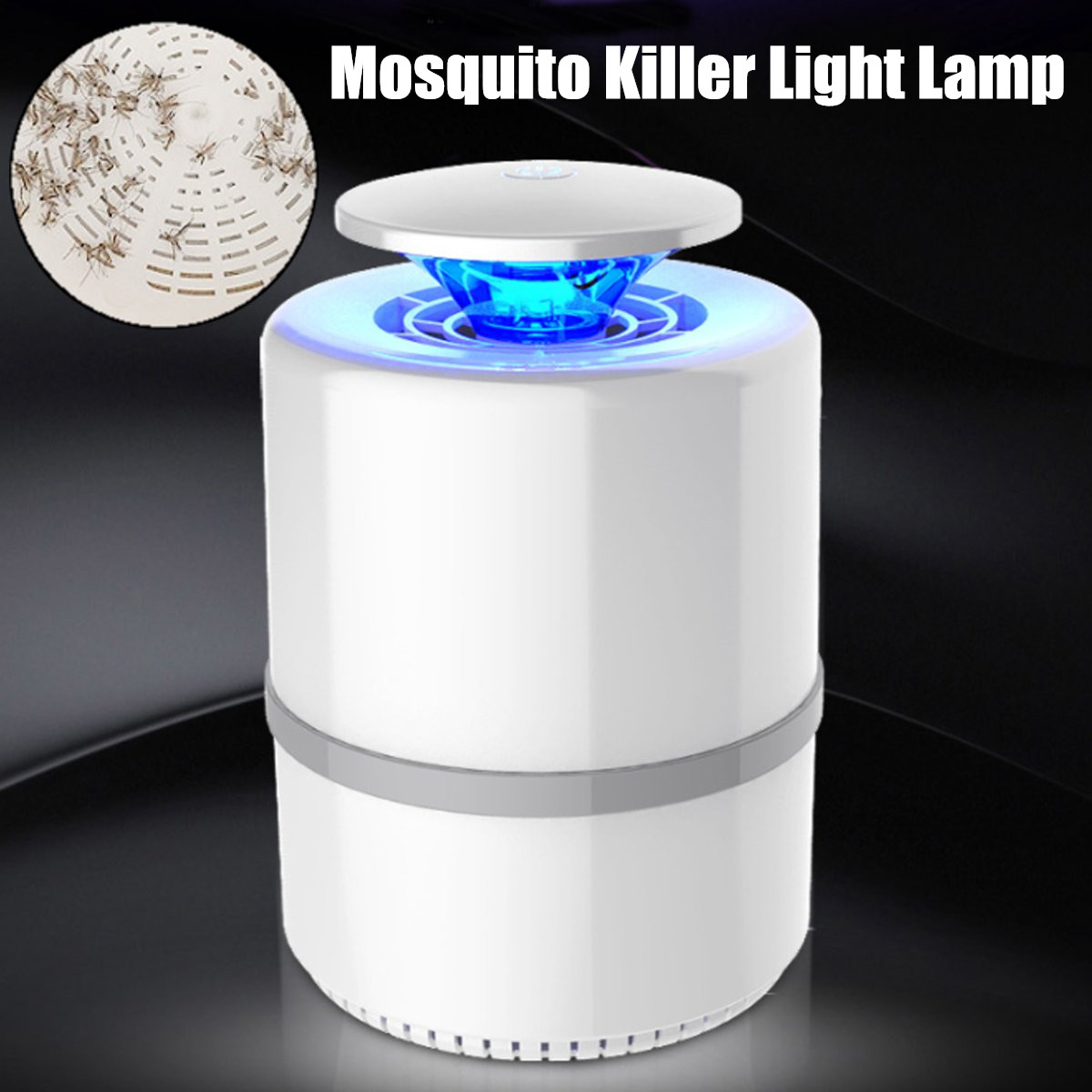 Mosquito Killer Light Lamp Flying Bug Pest Control Lamp Irradiation Photocatalyst Insect Killer Lamp