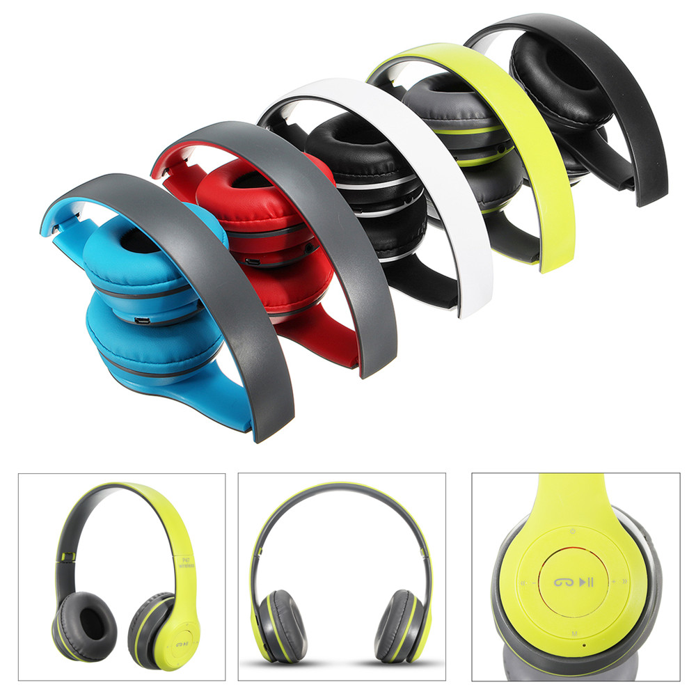 Wireless Bluetooth Sports Headphones with Microphone Po