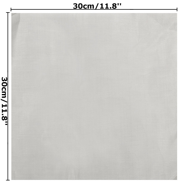 30x30cm Stainless Steel 304 Cloth Filtration Woven Wire Screen 100 Mesh