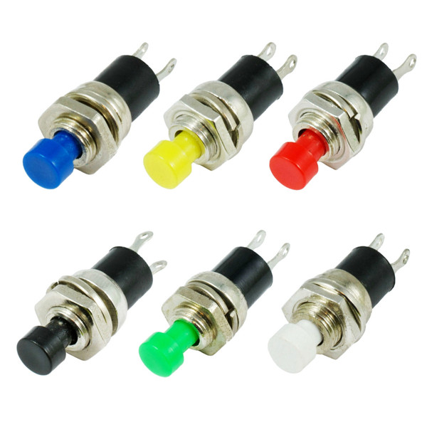10pcs Momentary Button Switches ON/OFF Push Button Mini Switches 250V 0.5A