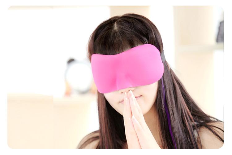 Honana DX-E1 3D Portable Soft Travel Sleep Rest Aid Eye Mask Cover Eye Patch Sleeping Mask