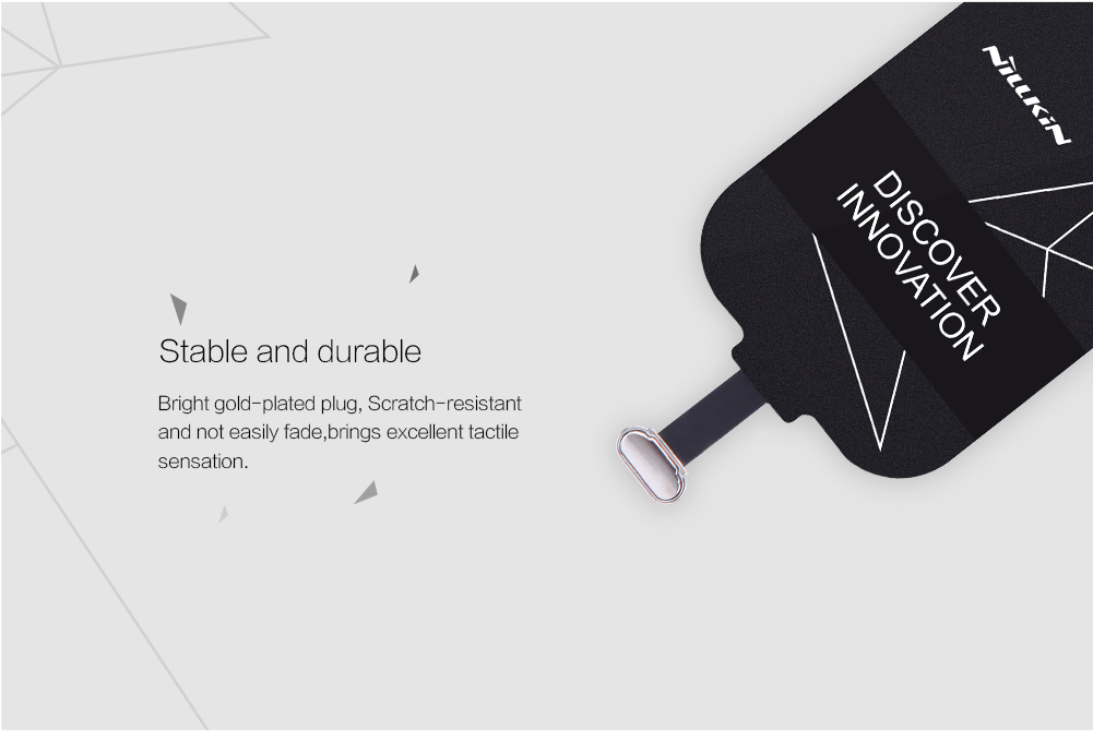 Original Nillkin QI Standard Micro USB Type A B Wireless Charger Receiver For Cell Phone