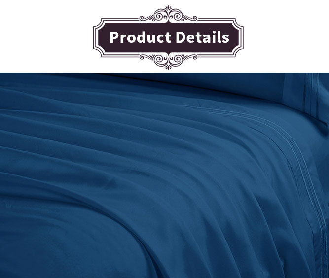 Bed Sheet Set Brushed Microfiber Bedding Wrinkle Fade Stain Resistant Hypoallergenic 3 Pieces /4 Pieces Set