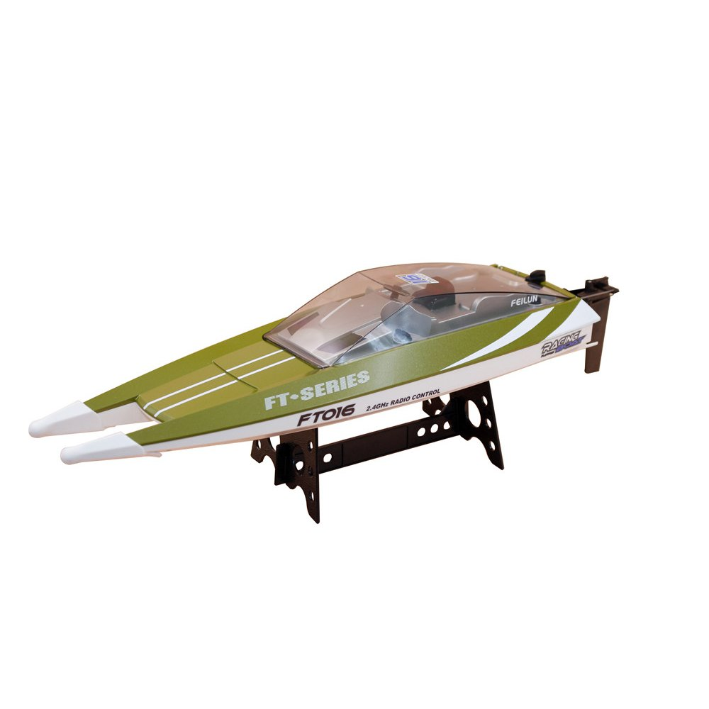 Feilun FT016 47CM 2.4G 4CH Rc Boat 540 Brushed 28km/h High Speed With Water Cooling System Toy - Photo: 9