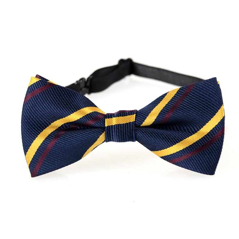 Baby Boy Kid Children Elegent Stripe Necktie Tie Shirt