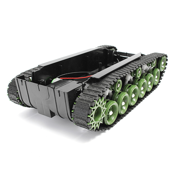 3V-9V DIY Shock Absorbed Smart Robot Tank Chassis Car Kit With 260 Motor For Arduino SCM