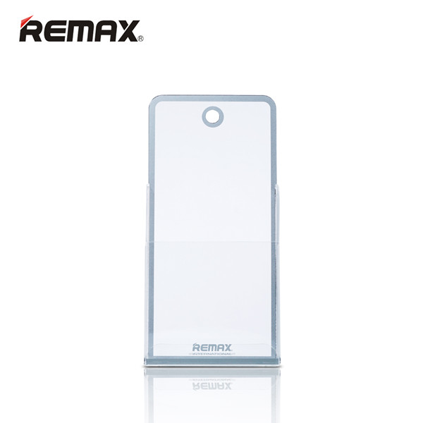 REMAX Transparent PVC Material Stand Holder Display Rack for Phone