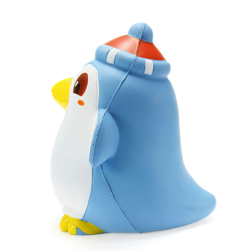 Xinda Squishy Penguin 12cm Slow Rising With Packaging Cute Animals Collection Gift Decor Soft Toy