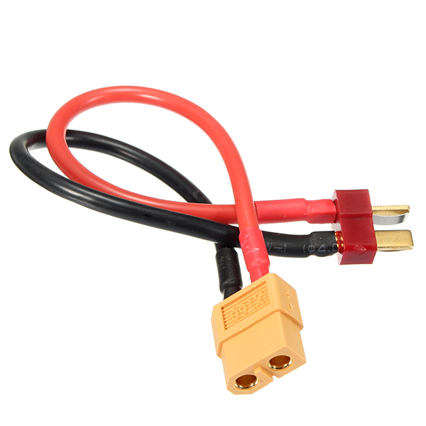 150mm XT60 Female Plug To T Male Plug Adapter Connector