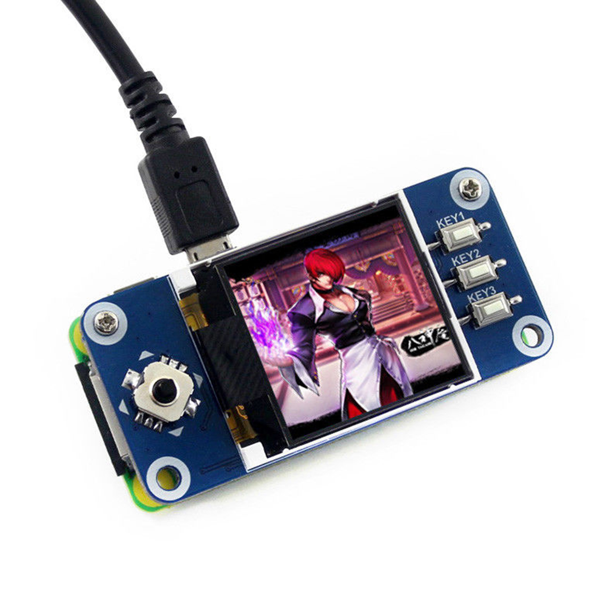 1.44Inch 128x128 Pixels SPI Interface LCD Display HAT for Raspberry Pi