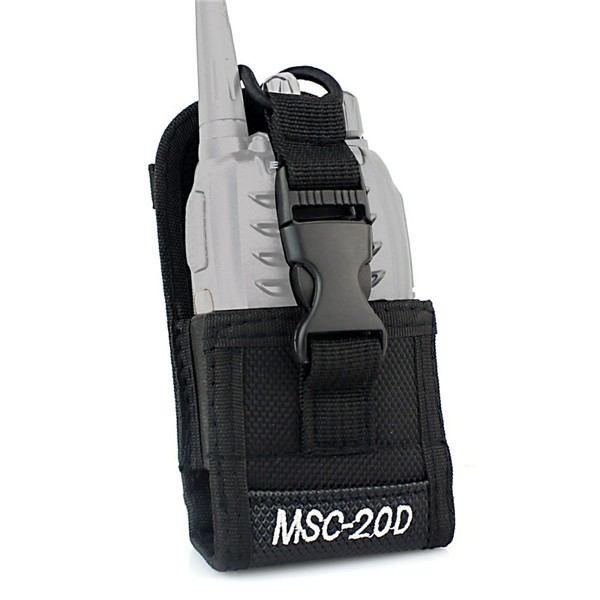 MSC-20D Multi-function Radio Case Holder for Baofeng H777 BF-666S/777S/888S Kenwood Yaesu Icom Motorola