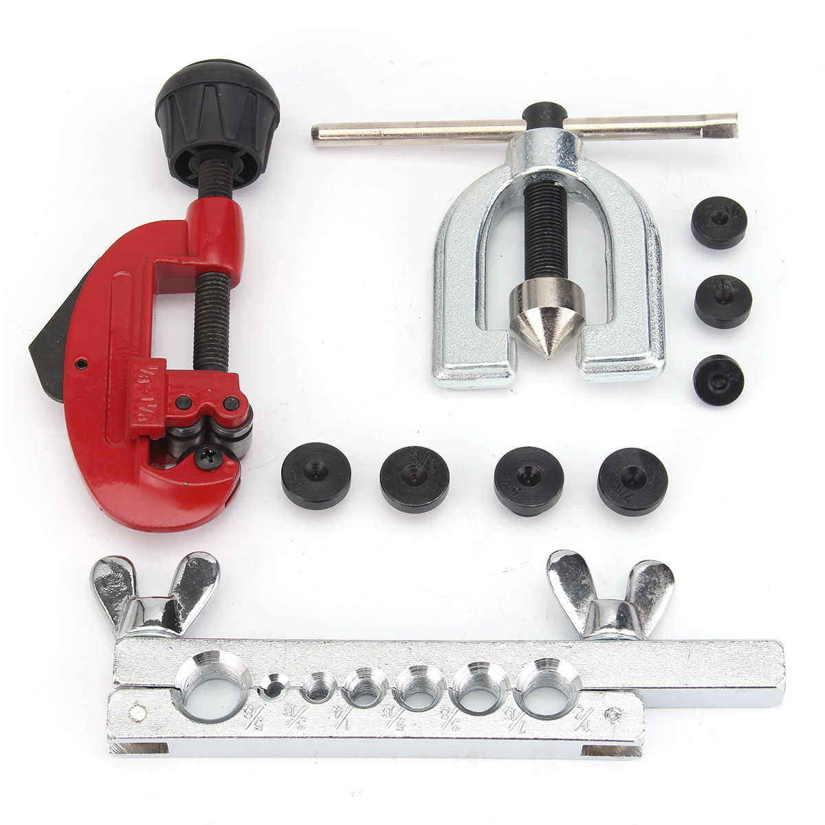 Double Flaring Tube Flare Tool Kits Pipe Cutter Air Conditioning Refrigeration CT-2034