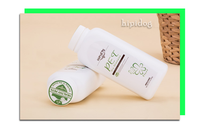 Pet Dry Cleaning Powder Pet Bath Supplies for Puppies Dog to Remove Fleas
