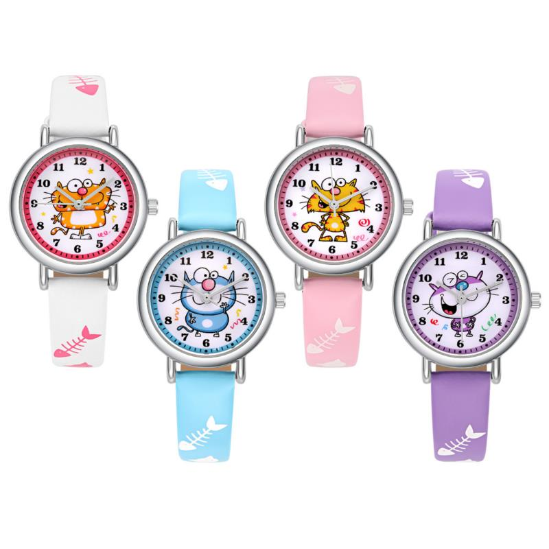 Cute Candy Colors Boys Girls Watch Fashion Children Quartz Watch