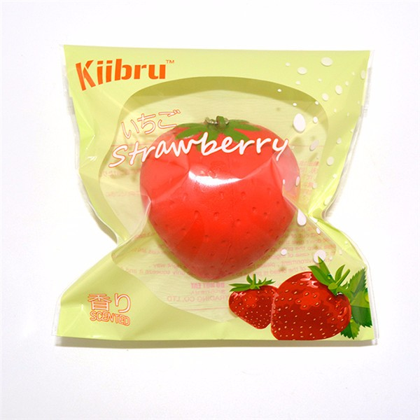 Kiibru Strawberry Squishy Slow Rising Licensed 7cm With Original Packaging Candy Scented Fun Gift