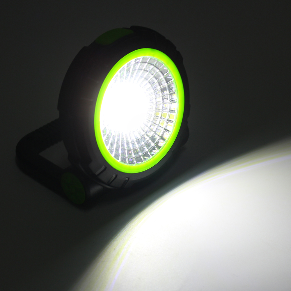 Portable COB LED Magnetic Hook Camping Lantern Outdoor Work Torch Hanging Emergency Light