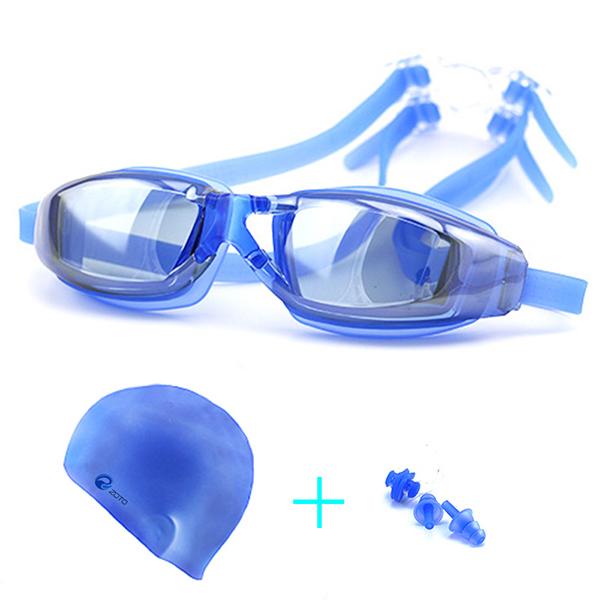 Men Women Swimming Goggles Anti Fog Uv Protection Waterproof Swim Glasses Suit