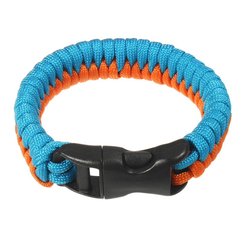 Outdoor EDC Emergency Paracord Bracelet 7 core Umbrella Rope Wristband
