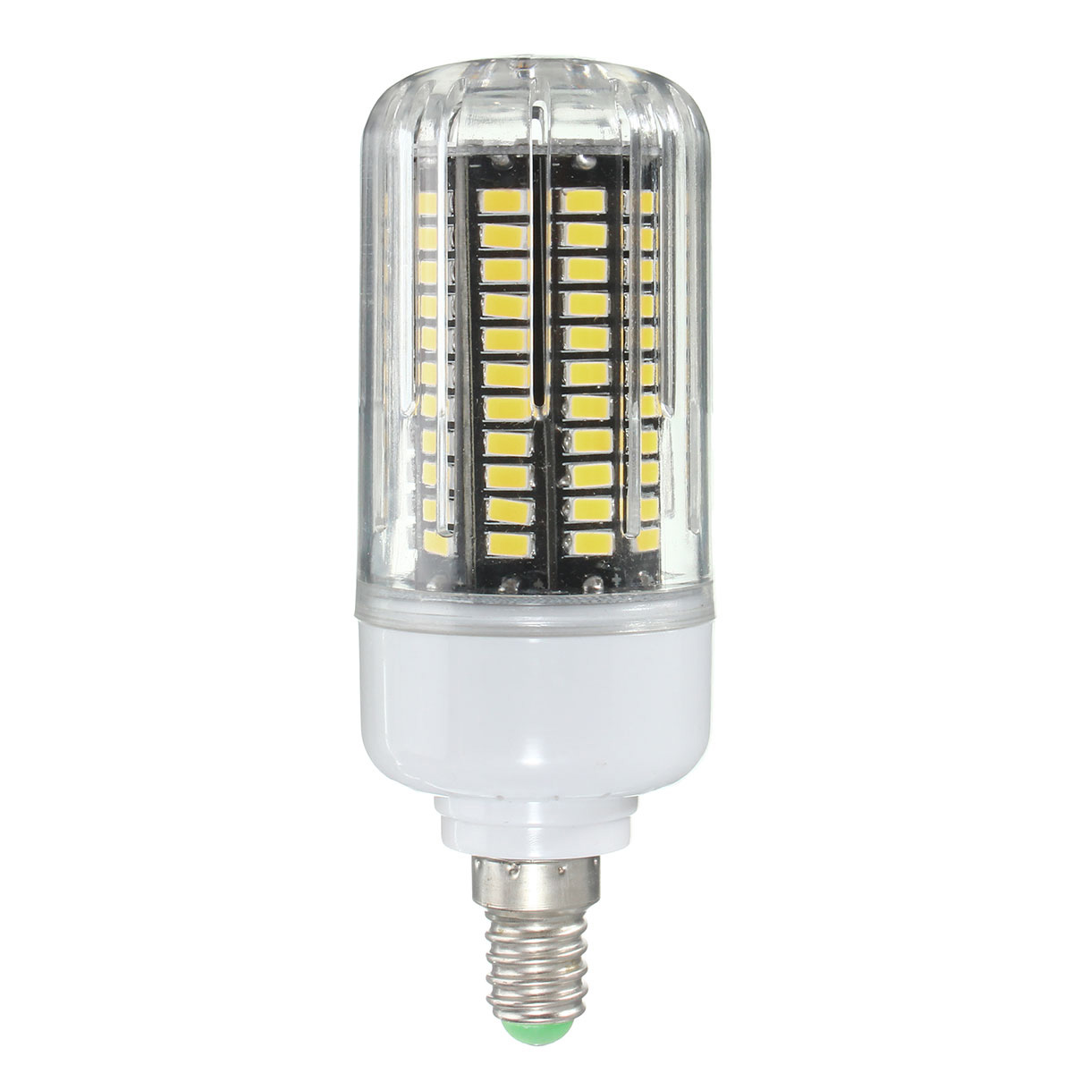 E27 E14 E12E E17 B22 15W 130 SMD 5736 LED Pure White Warm White Cover Corn Bulb AC85-265V