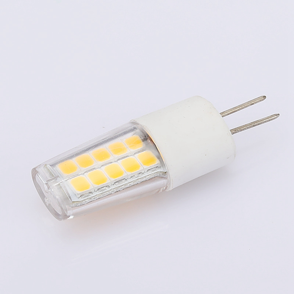 G4 3W SMD2835 Non-dimmable Pure White Warm White Ceramics 20 LED Light Bulb AC220V AC/DC12V