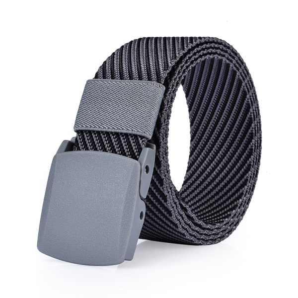 125CM Mens Nylon Resin Buckle Belt Outdoor Sport Military Tactical Durable Pants Strip