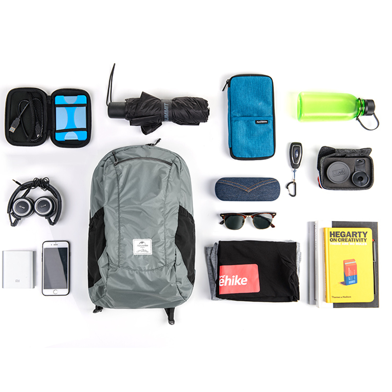 Naturehike NH17A012-B 18L Camping Hiking Backpack Ultralight Waterproof Folding Travel Outdoor Bag