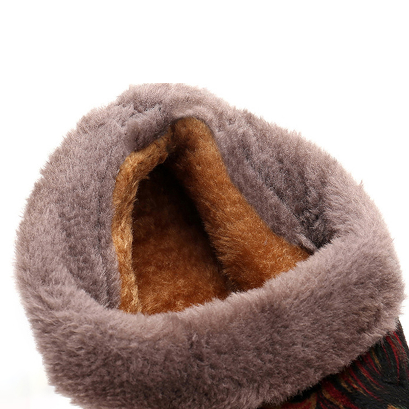 Fur Lined Women Snow Boots Winter Ankle Boots