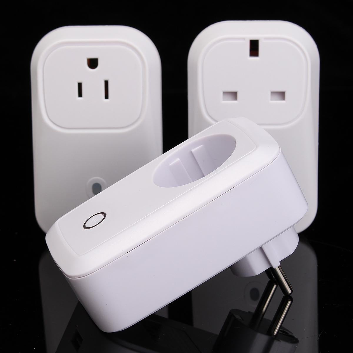 NEW WiFi Wireless Smart Power Socket Android/iOS Mobile Phone Remote Control Repeater US Plug/EU Plug/UK Plug