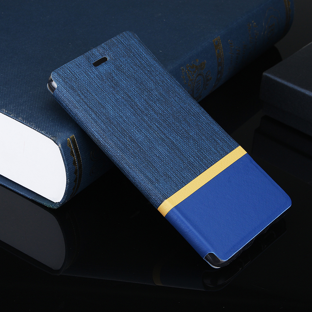 Bakeey Flip Cloth Pattern+PU Leather Full Protective Case For Xiaomi Mi A2 Lite / Xiaomi Redmi 6 Pro