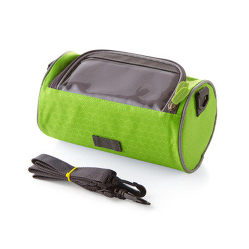 Outdoor Bicycle Package Bike Pouch Handlebar Mountai Front Bag Touch Screen For Mobile Phone 10 Inch